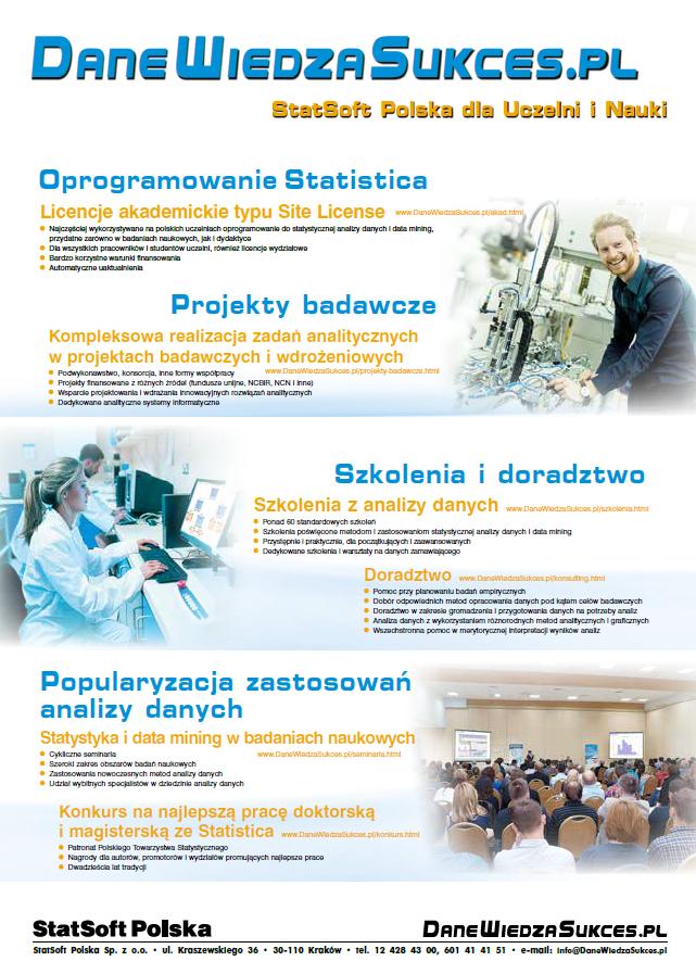 STATISTICA - wersja dla uczelni
