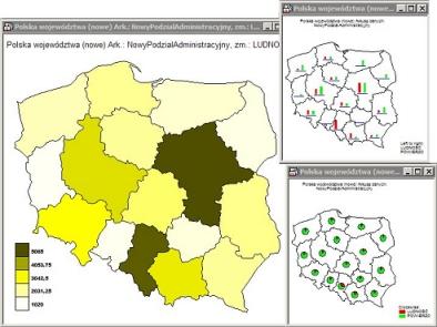 Mapy w STATISTICA